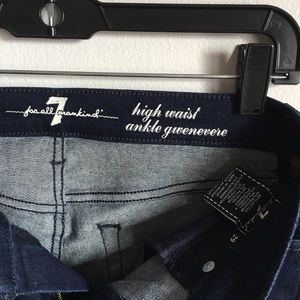 7 For All Mankind Jeans - 🆕 {7 For All Mankind} High Waist Ankle Gwenevere